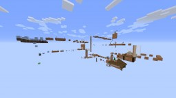 10 levels of parkour Minecraft Map & Project