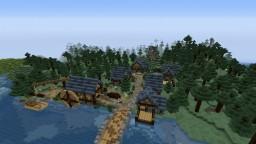 Hatchet: My spawn village Minecraft Map & Project