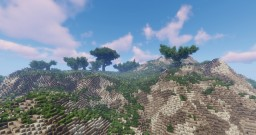 Survival Ready Island Terrain Minecraft Map & Project