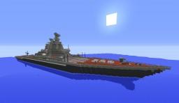 Russian Navy Pyotr Velikiy Minecraft Map & Project