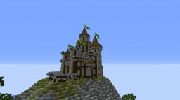 Castle on a Hill + download (Ed Sheeran pun) Minecraft Map & Project