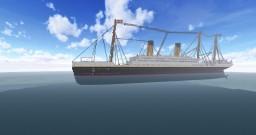 RMS Elfitania at 1912 - 2018 Update Minecraft