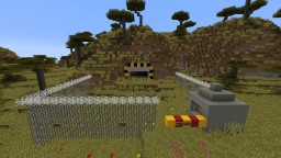 Nuclear Bunker V0.1 Beta Minecraft Map & Project