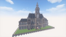 Medieval-Style City Hall Minecraft Map & Project