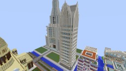 Ally Detroit Center Minecraft Map & Project
