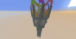 256 blocks tall TOWER! (TIMELAPSE) Minecraft Map & Project
