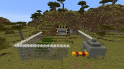 Nuclear Bunker V.0.2 Updated Minecraft Map & Project