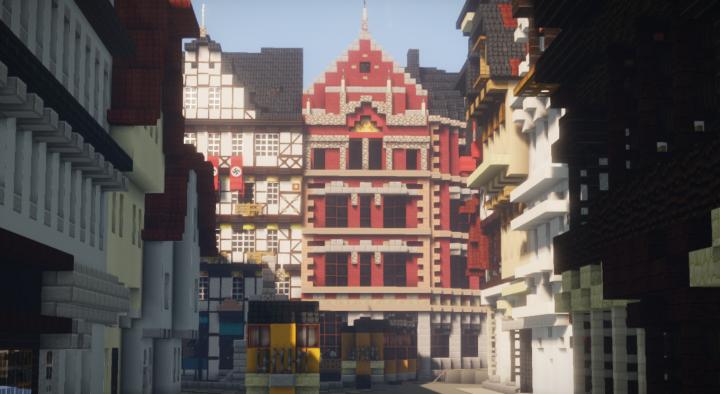 Haus Markt 11 Giessen Germany Minecraft Project