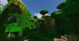 [-New Minerule-] Mossdeep jungle + Fortree City Minecraft Map & Project