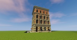 Neo-Renaissance building Minecraft Map & Project