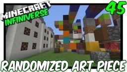 """Randomized Art Piece"" [45] Minecraft Bedrock Infiniverse Minecraft Map & Project"