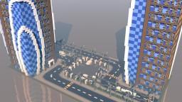Modern Twin Tower | Arenapvp | Arcenia Minecraft Map & Project