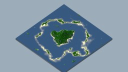 Atoll island 2k*2k Minecraft Map & Project