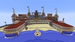 Bioshock Infinite - Survival Games Map Minecraft Map & Project