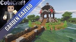Medieval/Rustic/Fantasy Gazebo + Schematic Minecraft Map & Project