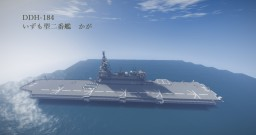 "JMSDF DDH-184 ""Kaga"" Minecraft Map & Project"