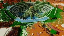 Glorious sandstone temple Minecraft