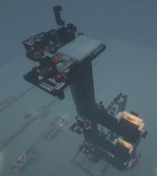 Multifloor flying machine elevator Minecraft