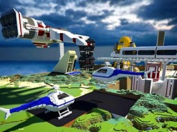 Helicopter Minecraft Map & Project