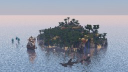 Jungle Island Terrain | Kitpvp Map | Arcenia Minecraft Map & Project