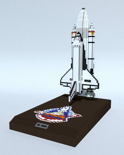 Shuttle Stack Model