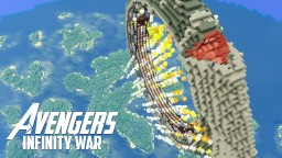 Avengers: Infinity War - Leaving Earth Minecraft Map & Project