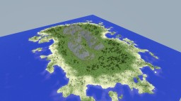 Lost Island Terraforming Contest | 2k x 2k Minecraft Map & Project