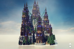 Woodlot Keep - a FREE spawn or hub! Minecraft