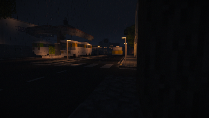 The city is Oldvale by Eivisxp which I modified by replacing the streets