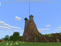 Creative Hill Base PE Minecraft Map & Project