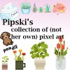 Pipski's collection of (not her own) pixel art Minecraft