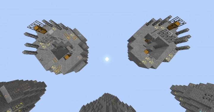 Two spawn islands