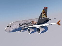 Airbus A380 - Sonoyuncu Edition Minecraft Map & Project