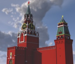 Kremlin Wall Minecraft Map & Project