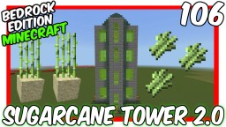 Sugarcane Tower Farm 2.0 Minecraft Map & Project