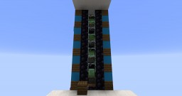 Multi Floor Elevator! Redstone Tutorial Minecraft Map & Project