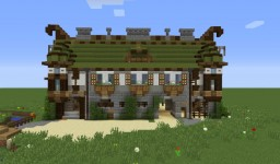 Sortavala Post. Hostelry, stables, cafe on the terrace. Minecraft