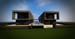 Double house (concept house) Minecraft Map & Project