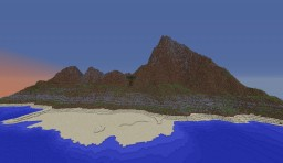 Isle of Independence - Lost Island Terraforming Contest Minecraft Map & Project