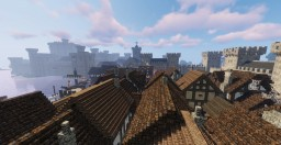 Medieval Castle and Town: Conquest! Minecraft Map & Project