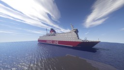 Viking Line m/s Diana II Minecraft Map & Project