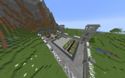 Underground military base V.1 Minecraft Map & Project