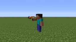 Paintable Pistol (Armourer's Workshop) Minecraft Map & Project
