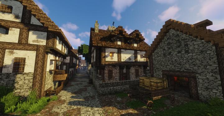 Parson's house and tithe barn