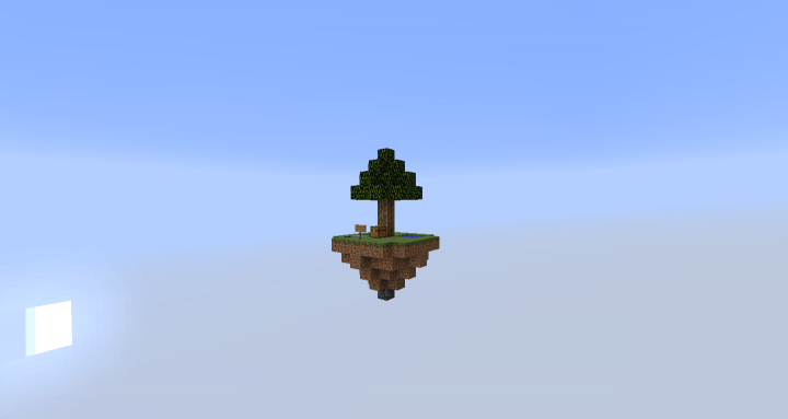 SkyBlock Island 1 of 3 different types of island