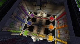 Rainbow Factory Minecraft Map & Project