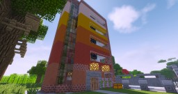 Modern flat Minecraft Map & Project