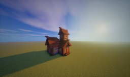 Little medieval house with a 5x technic Minecraft Map & Project