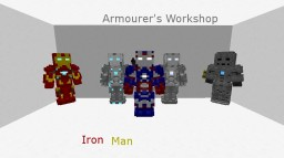 Armourers Workshop - Iron Man Minecraft Mod