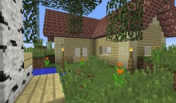 1 chunk house Minecraft Map & Project